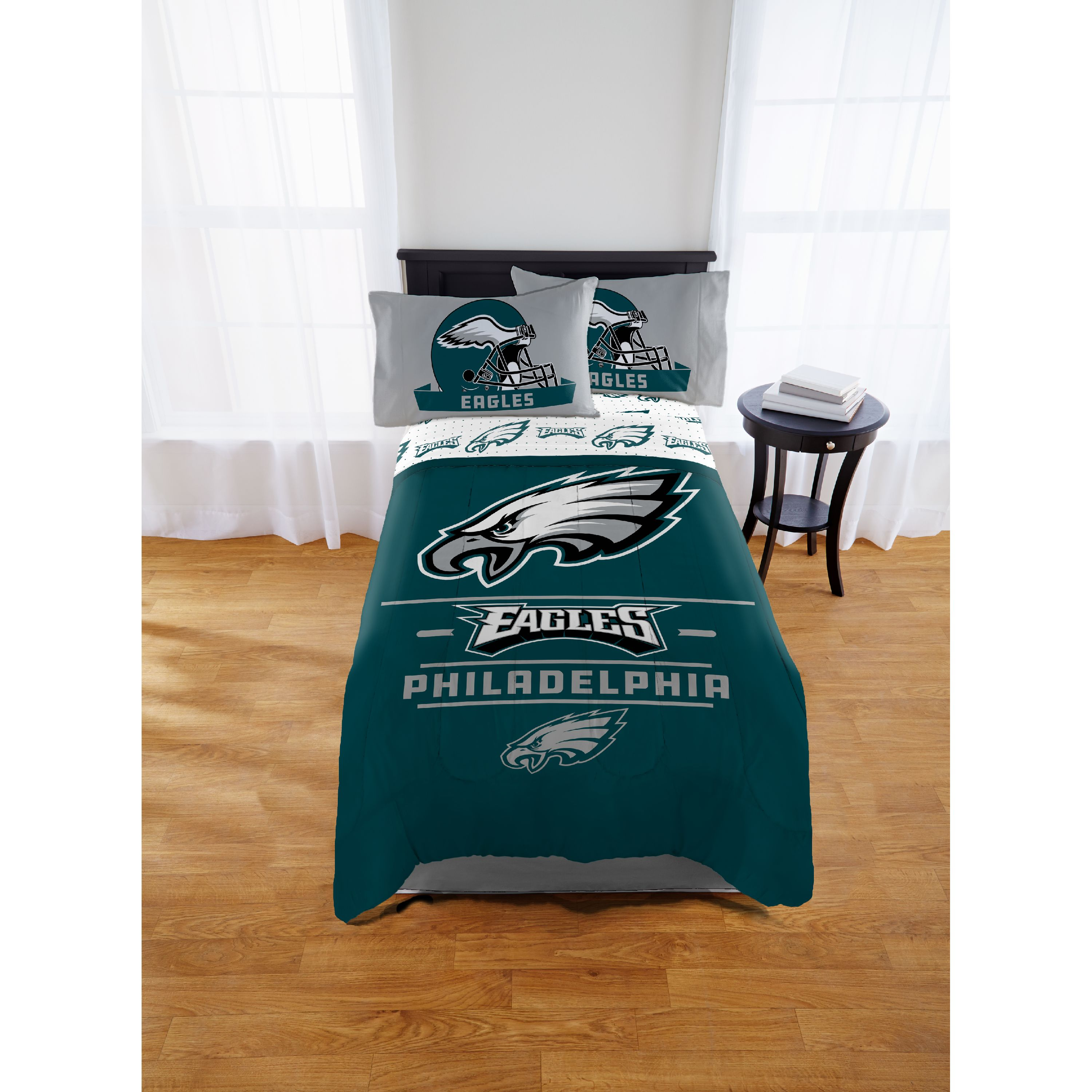 NFL Philadelphia Eagles Monument Twin or Full Comforter, 1 Each