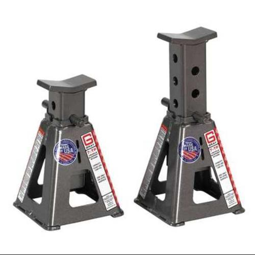 GRAY 7TF Stands Vehicle Stand,Pin Style,7 Tons,PR