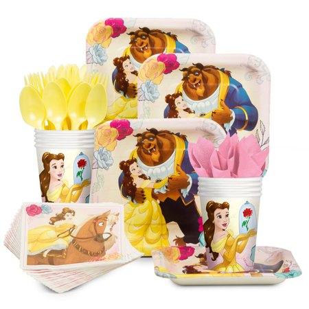 Beauty and the Beast Standard Tableware Kit (Serves