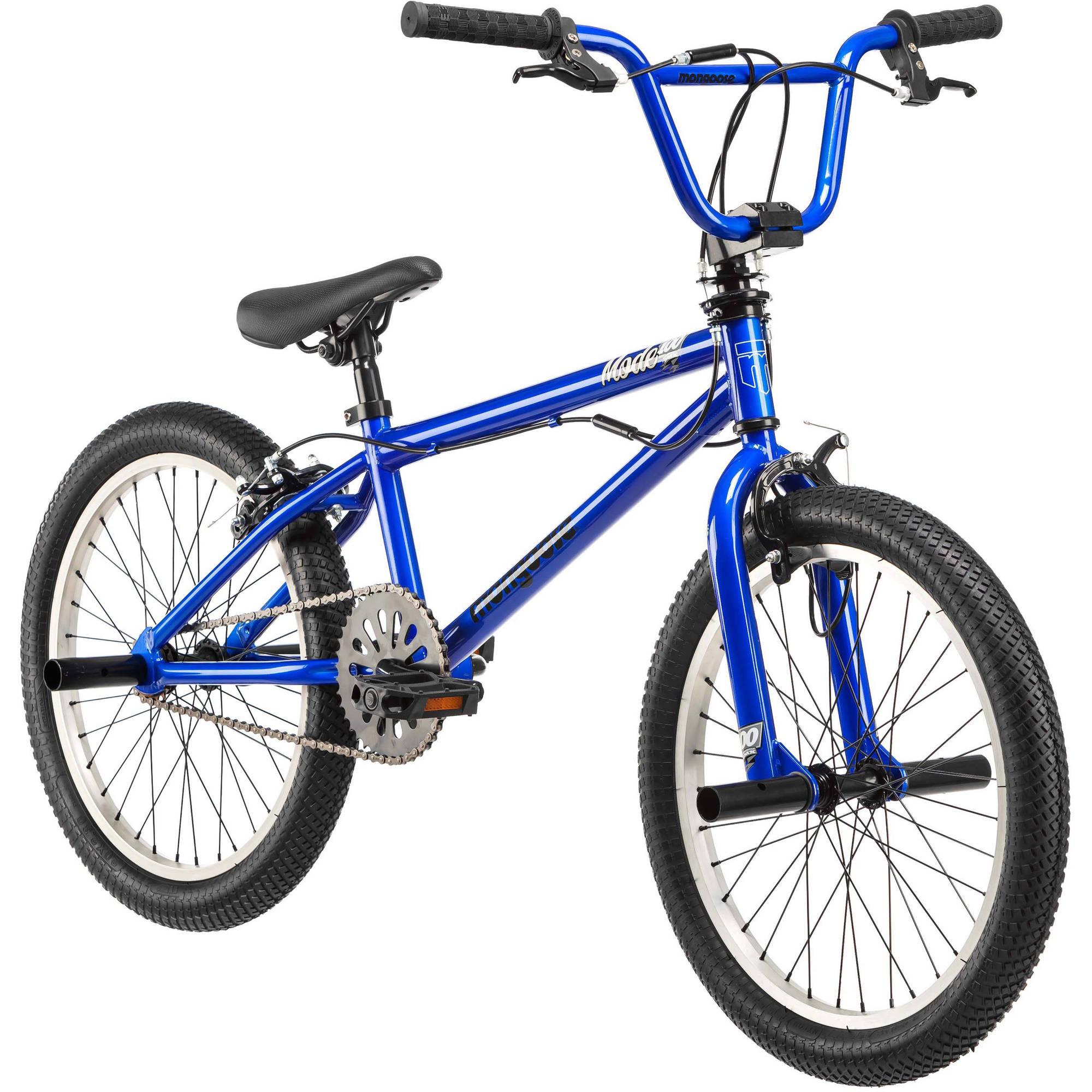 "20"" Mongoose Mode 100 Boys' Freestyle Bike"