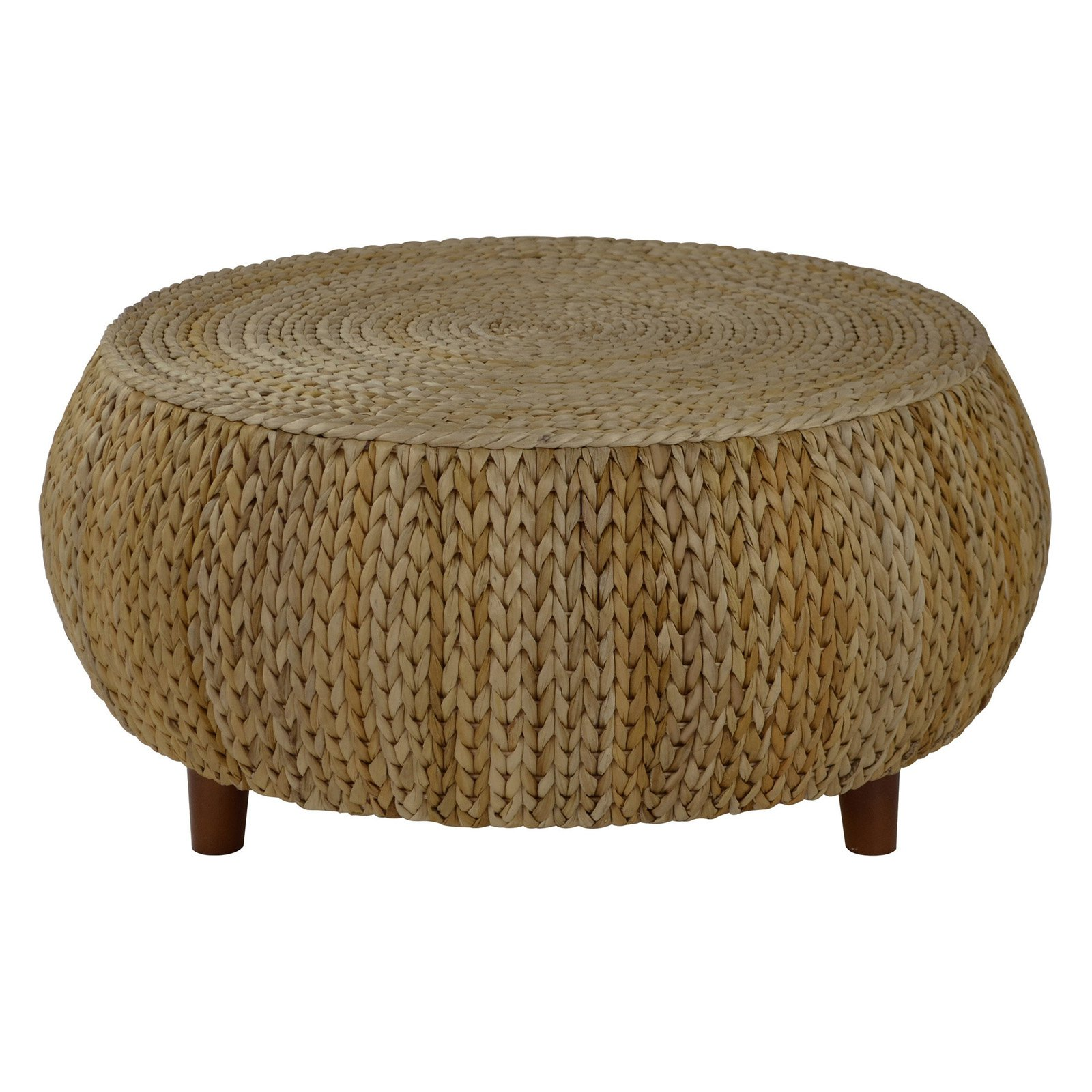 Gallerie Decor Bali Breeze Low Round Accent Table by Gallerie Decor LLC