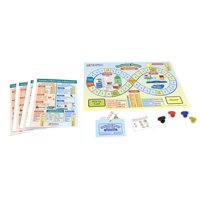 Newpath Learning 1571206 Learning Customary & Metric Units of Measurement Learning Center Game, Grade 3-5
