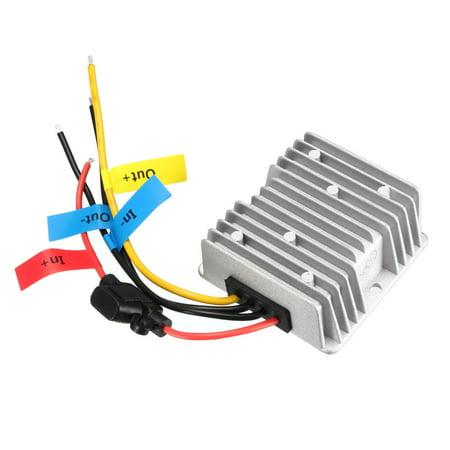 20a Converter (Unique Bargains AC 24V to DC 12V 20A 240W Waterproof LED Driver Power Supply Converter Regulator)