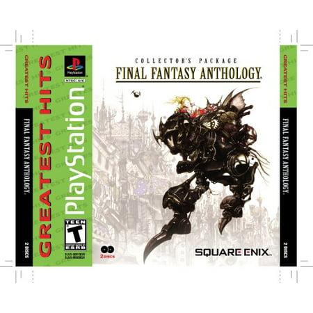 Image of Square Enix Final Fantasy Anthology (Final Fantasy V & VI) Sony Playstation
