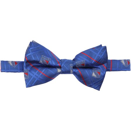 Henry New York Tie - New York Rangers Oxford Bow Tie - No Size
