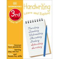 DK Workbooks: DK Workbooks: Handwriting: Cursive, Third Grade : Learn and Explore (Paperback)