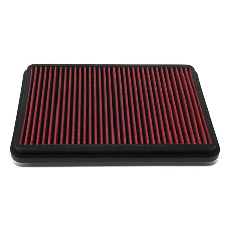 For 4Runner / Tundra / GX470 Reusable & Washable Replacement Engine High Flow Drop-in Air Filter (Engine Air Flow)