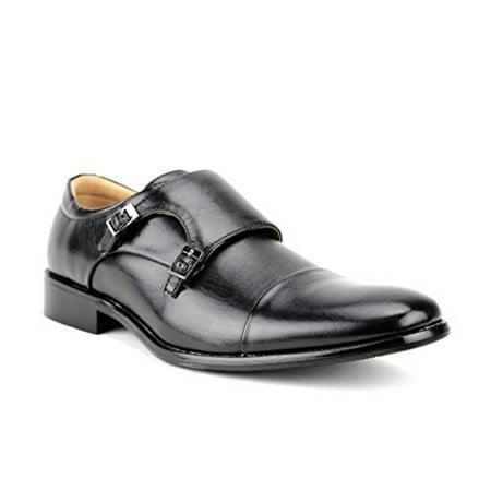 Majestic Men's 95702 Double Monkstrap Casual Loafers Dress