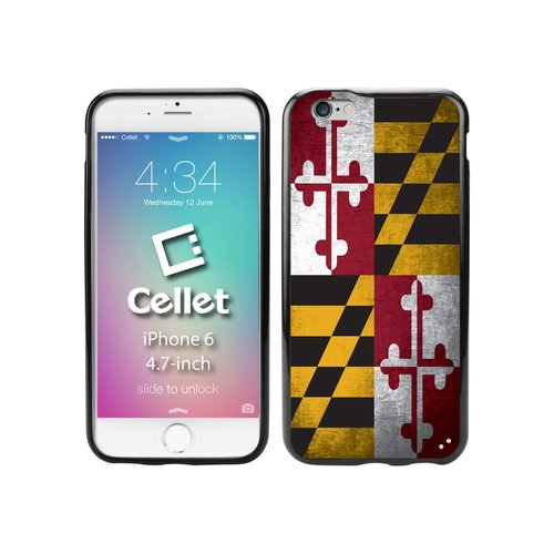 Cellet TPU/PC Proguard Case with Vintage Maryland Flag for Apple iPhone 6