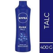NIVEA Talc, Musk Mild Fragrance Powder, 400g