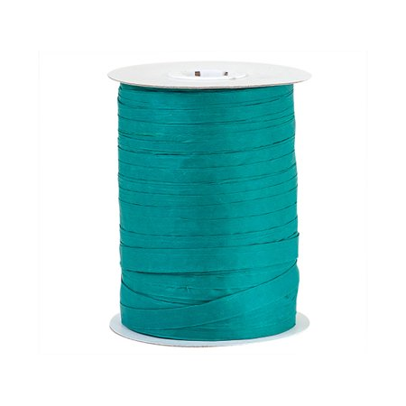 Raffia Lace (Paper Teal gift packaging Raffia Ribbon )