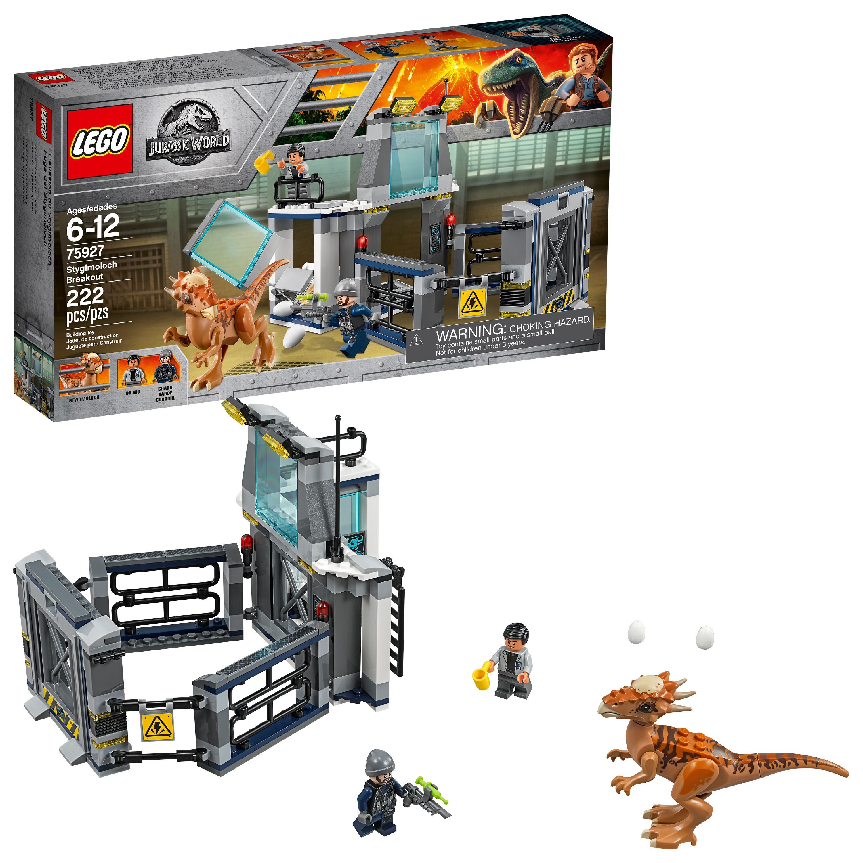 LEGO Jurassic World Stygimoloch Breakout 75927 (222 Pieces)