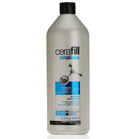 Redken Cerafill Retaliate Stimulating Shampoo (For Advanced Thinning Hair), 33.8 Fl