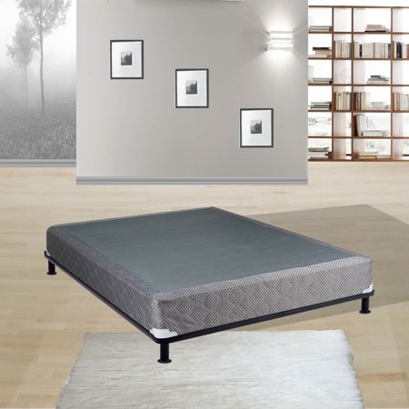 """Continental Sleep, 8"""" Fully Assembled Box Spring/Foundation For Mattress, Twin Size"""