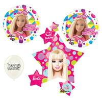 Barbie Birthday Party 4 piece Balloon Set