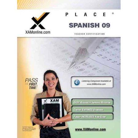 Place Spanish 09 Teacher Certification Test Prep Study Guide ...