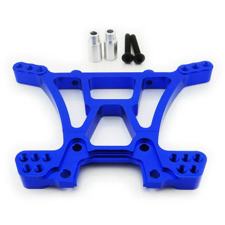- Atomik Alloy Rear Shock Tower Traxxas Slash 4X4, 1:10, Blue