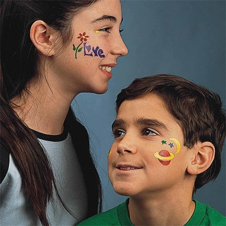 Art Wear Face Painting Kit - Face Painting Ideas For Halloween Easy
