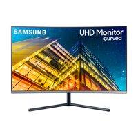 "Samsung 32"" Class Curved Wide Screen 4K UHD ( 3840 x 2160) Monitor- LU32R590CWNXZA"