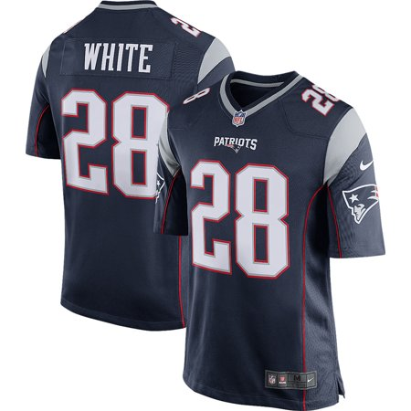 James White New England Patriots Nike Men's Game Jersey -