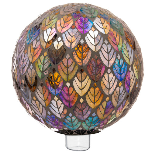 Red Barrel Studio Ecumenics Baroque Splendor Mosaic Gazing Ball by