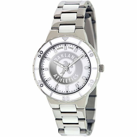 Game Time MLB Womens Oakland Athletics Pearl Series Watch by