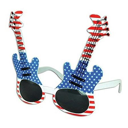 USA GUITAR SUNGLASSES - ONE ITEM - Guitar Sunglasses