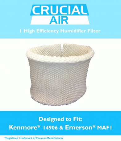 kenmore humidifier filters. kenmore 14906 ef1 humidifier wick filter, part # 42-14906 filters