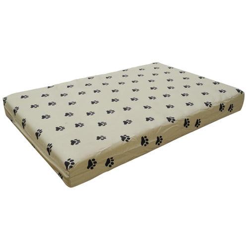 Go Pet Club Memory Foam Orthopedic Dog Pet Bed - Tan