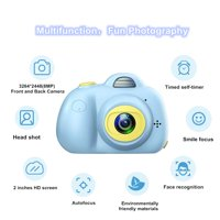 Kids Toys Camera for Girls Boys, 8MP Front and Back Camera 1080P HD Video Recorder Digital Camera for Children Girls Boys Gifts---Blue(32G TF Card Included), I5794