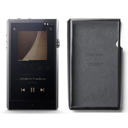007 Stainless Steel Case - Astell & Kern Ultima SP1000 High Resolution Music Player with Black Cordovan Leather Case