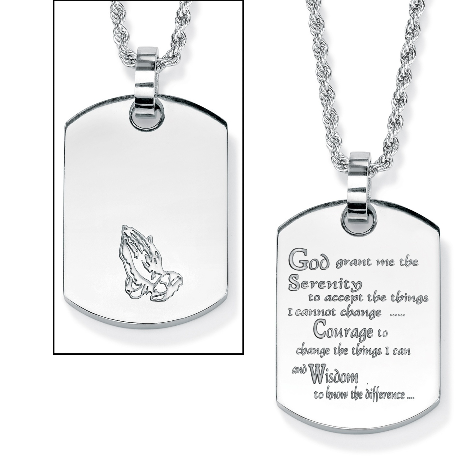 Necklace The Things I can and The Wisdom to Know When to just go Hiking Best Gift Necklace for Hike God Grant me The Serenity