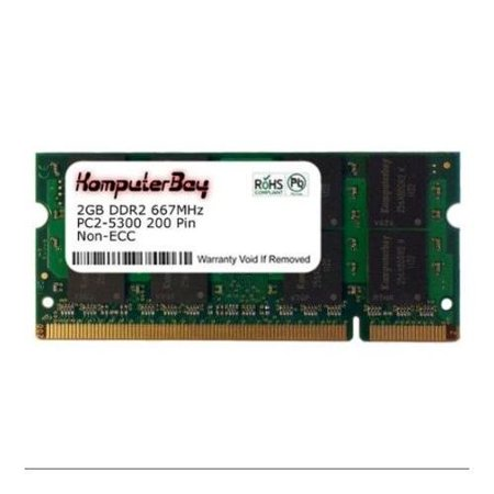 2GB Memory RAM Upgrade for the Lenovo Thinkpad R61 Series, T60 Series, T61 Series, X60 Series and X61 Series Laptops (DDR2-667, PC2-5300, SODIMM),.., By Hynix