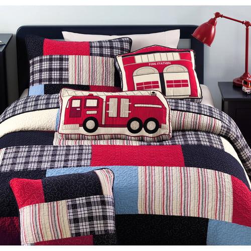 Cozy Line Home Fashion Patchwork Quilt Set