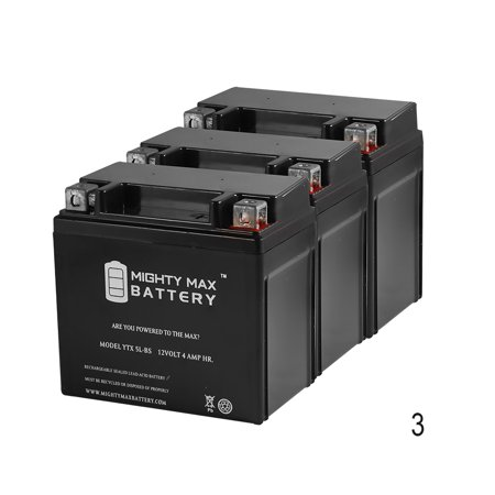 Ytx5l Bs Replacement For Yuasa Battery Ytx5l Bs   Dmh5l1   3 Pack