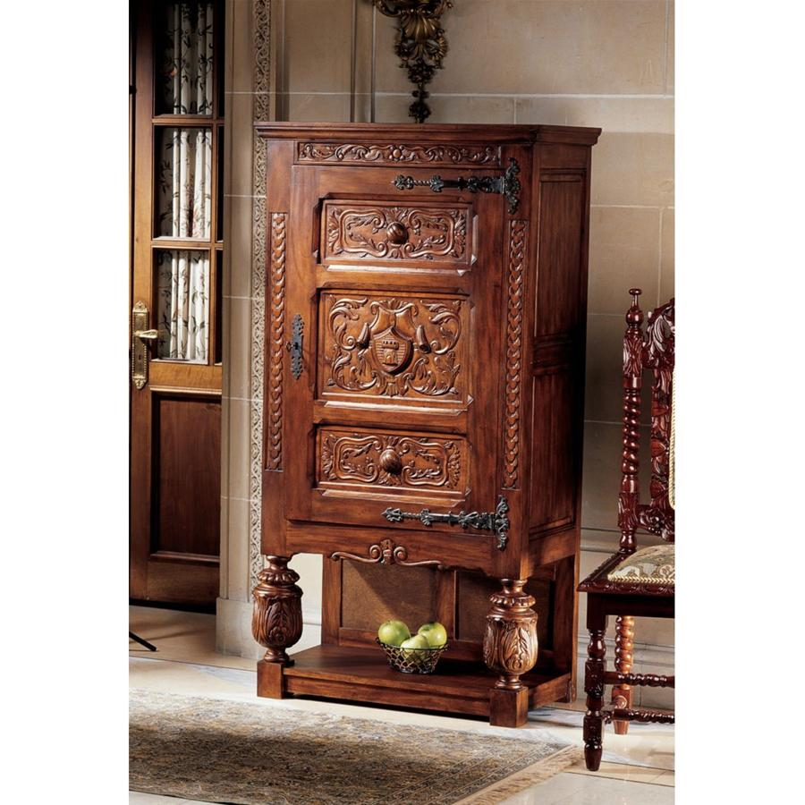 Coat of Arms Gothic Revival Armoire by Design Toscano