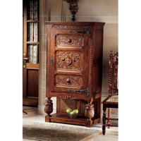 Design Toscano Coat of Arms Gothic Revival Armoire