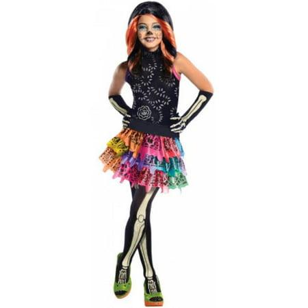 Skelita Calaveras Costumes (Costumes for all Occasions RU886700SM Mh Skelita Calaveras Child)