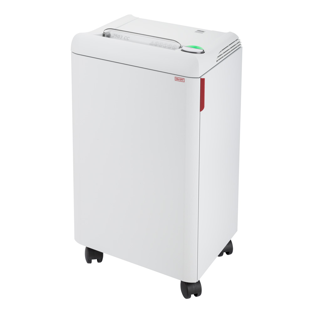 ideal. 2503 Continuous Operation Cross Cut Centralized Office Paper/Credit Card Shredder, 12-14