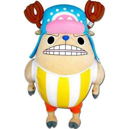 Plush - One Piece - New Chopper Kung Fu Poin 14'' Soft Doll Anime ge52712 ()