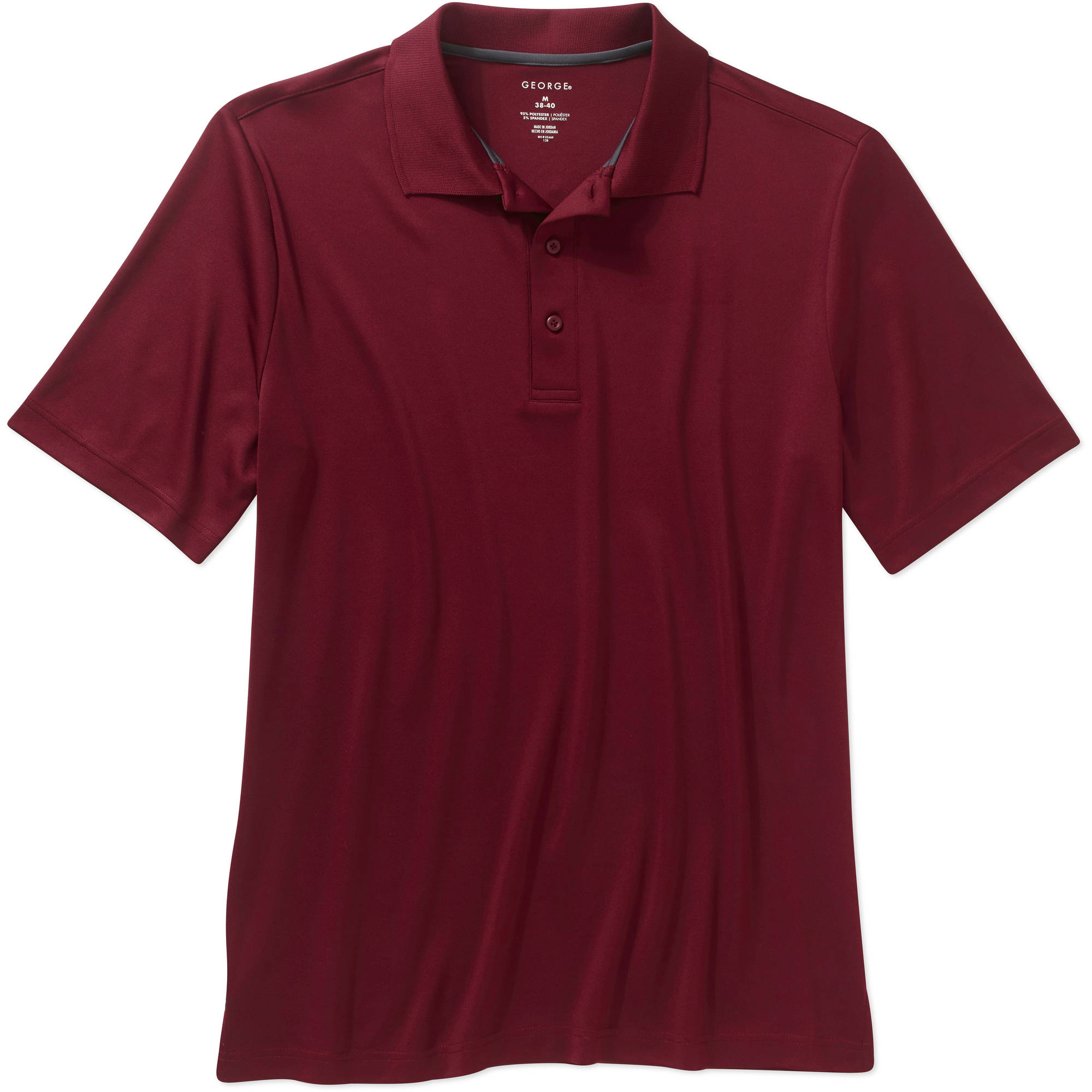 George Big Men's Short Sleeve Polo