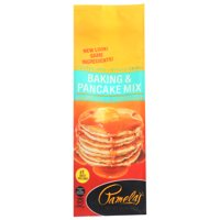 Pamela's Products, Baking And Pancake Mix, Wheat And Gluten Free, 24 Oz, Pack Of 6