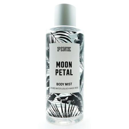 53a1301fe0953 Victoria's Secret PINK Moon Petal Body Mist Lychee Water & Black Magic Rose  8.4 Fl Oz.