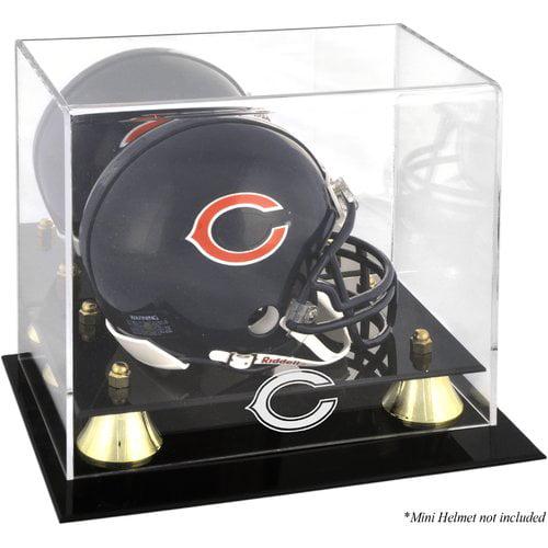 Black Base Details Mounted Memories Nebraska Cornhuskers Team Logo Football Display Case