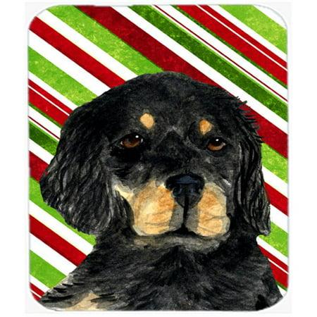 Carolines Treasures SS4584MP Gordon Setter Candy Cane Holiday Christmas Mouse Pad, Hot Pad Or Trivet - image 1 de 1