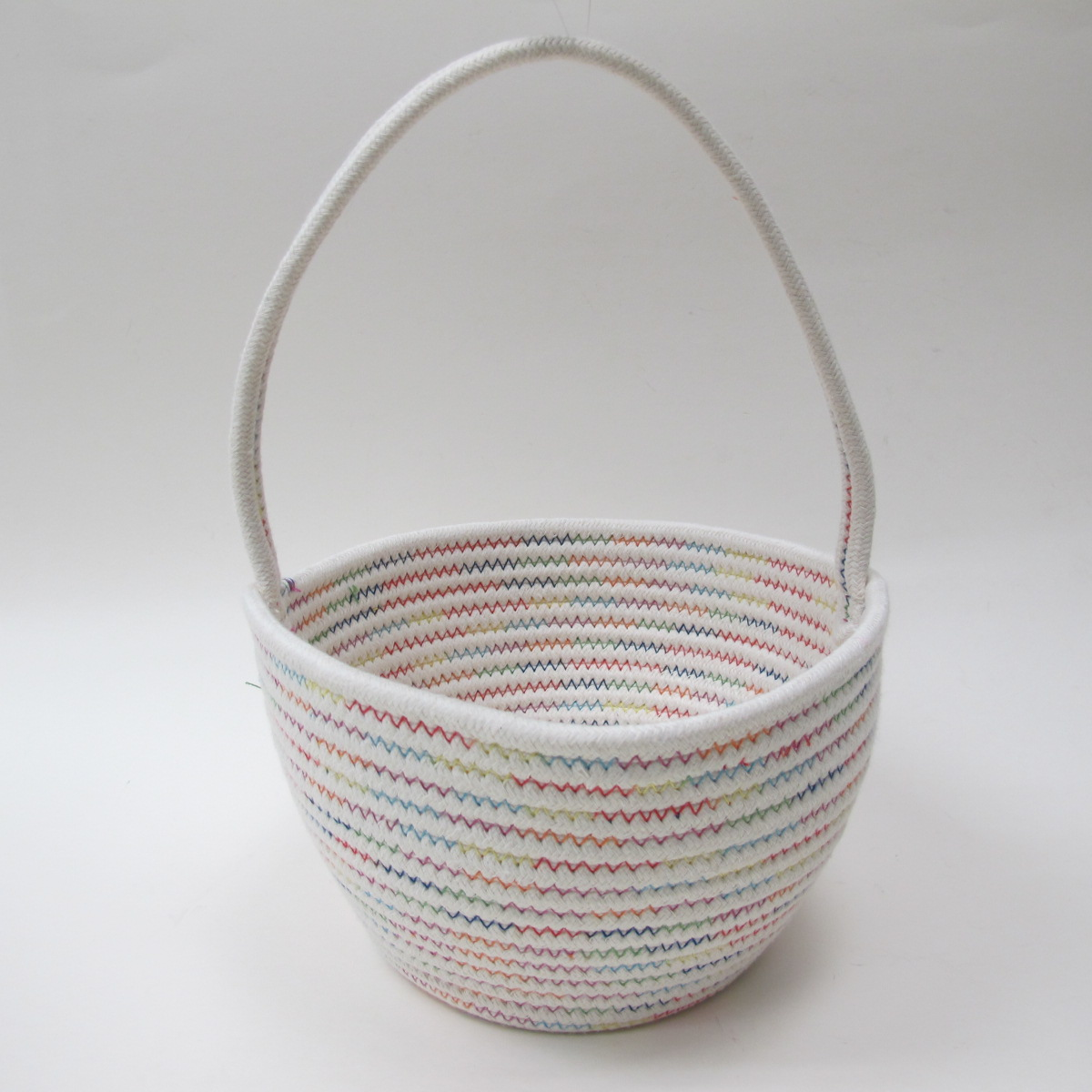 Easter -wal-mart White/multi Lg Bskt