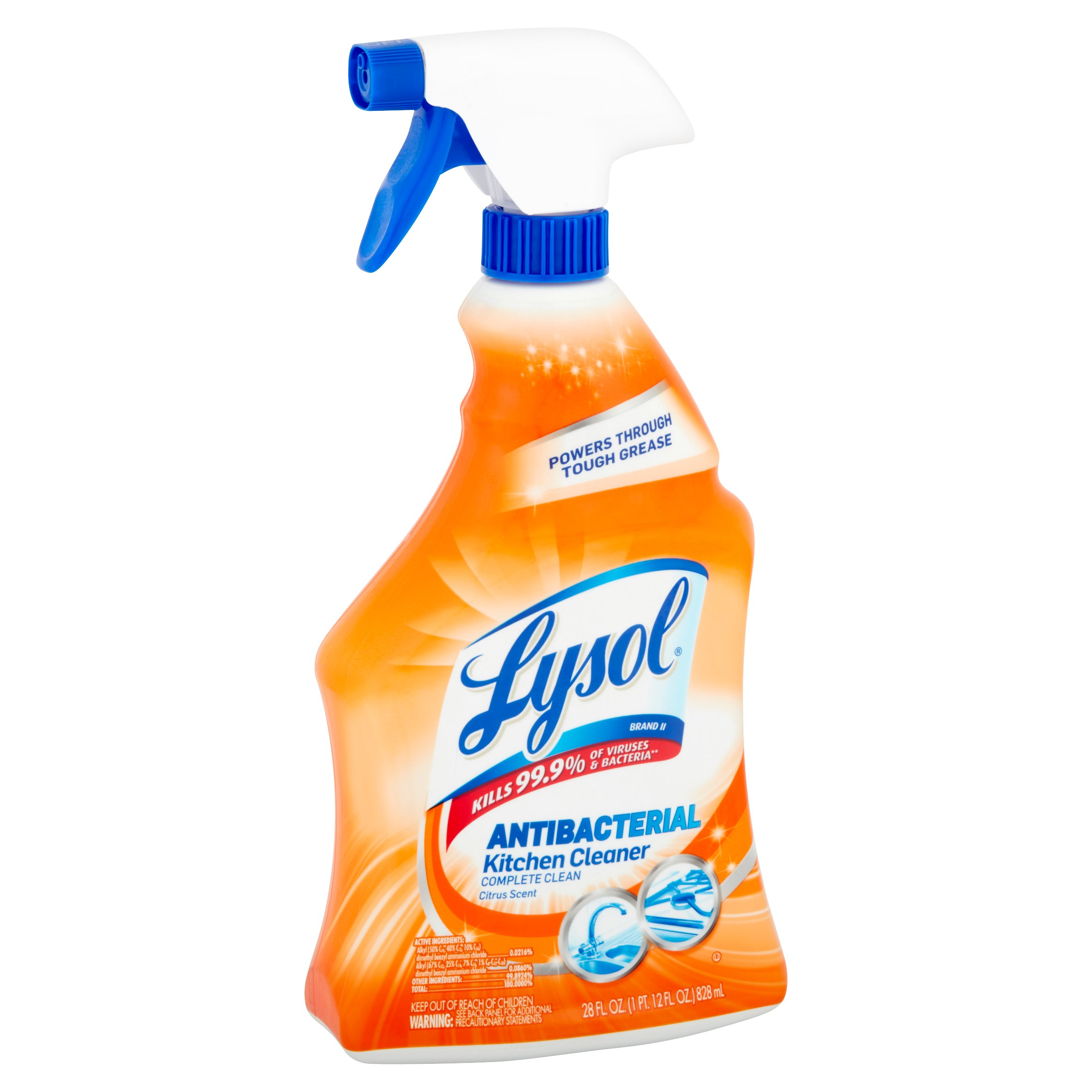 lysol antibacterial kitchen cleaner safety data sheet kitchen