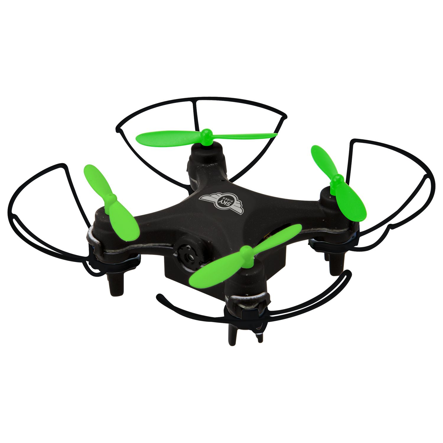 Sky Rider Mini Glow Pro Quadcopter Drone with Wi-Fi Camera, DRW417B by Sky Rider