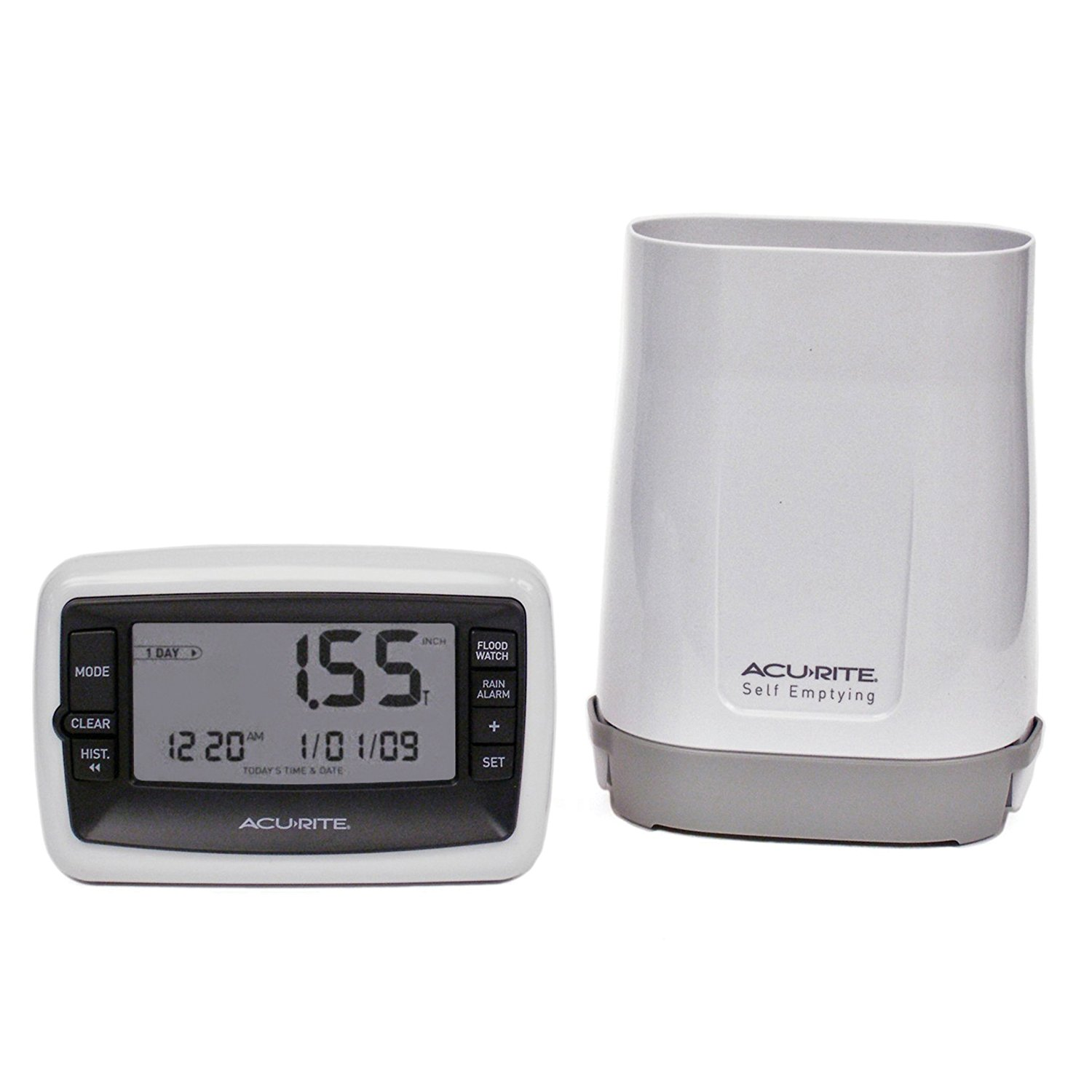 00899 Deluxe Wireless Rain Gauge By AcuRite by