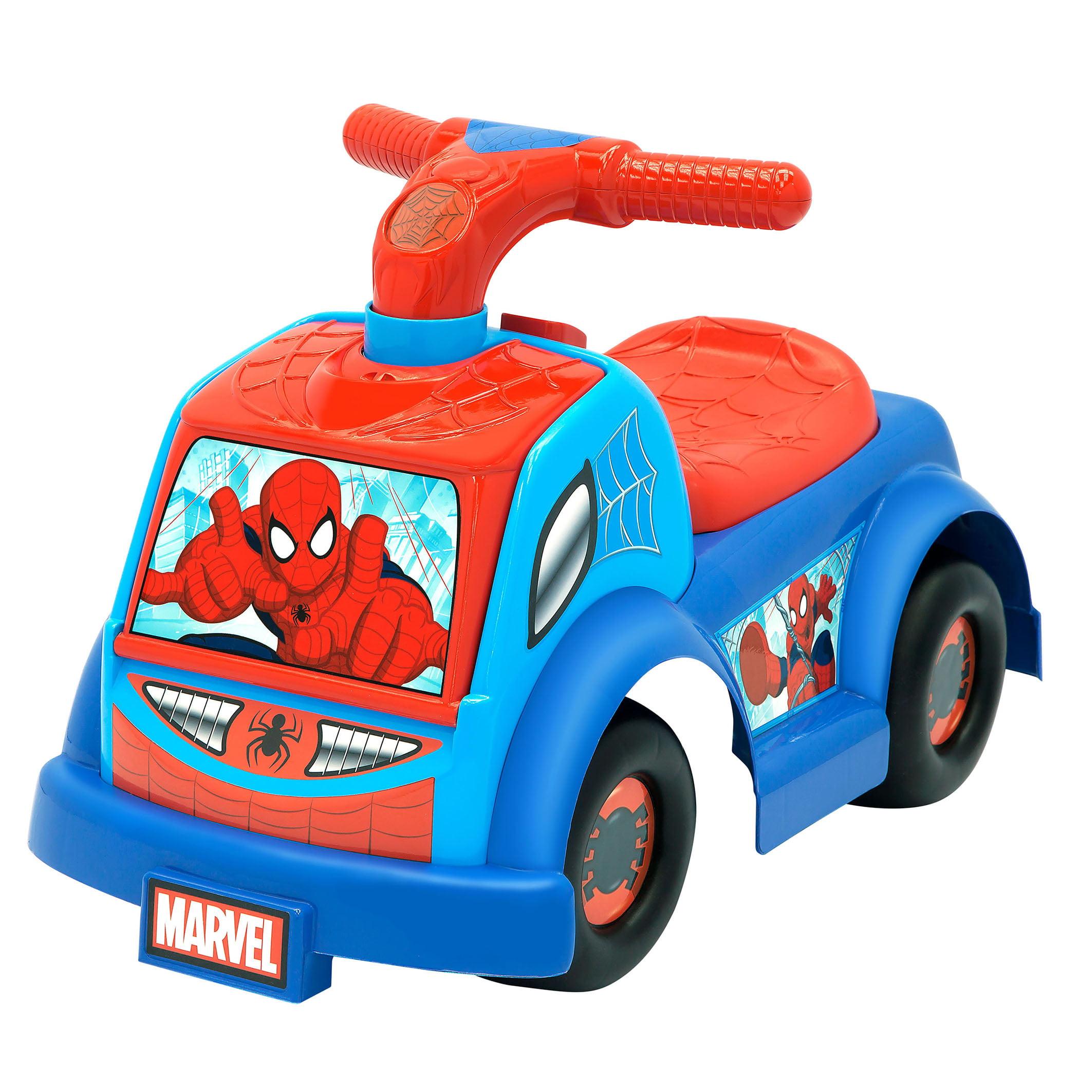 Marvel Spiderman Adventures Web-Slinger Preschool Ride-On